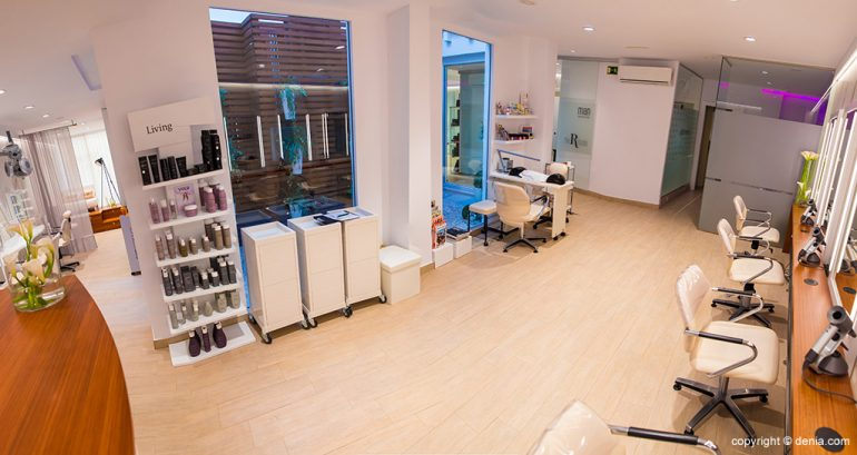Interior peluquería - The Reference Studio