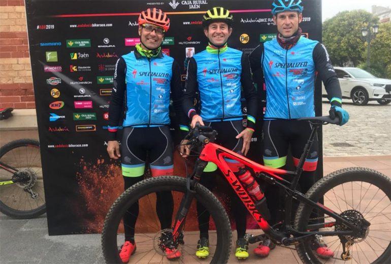 Los dianenses en la Andalucia Bike Race