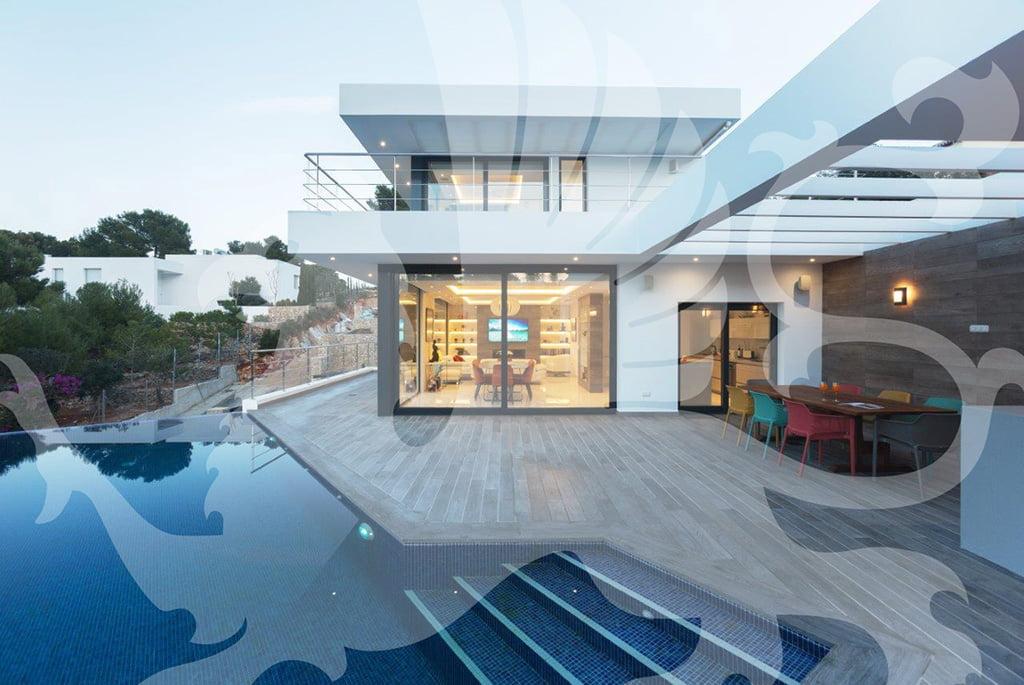 Pool villa Stirling Ackroyd in Spagna