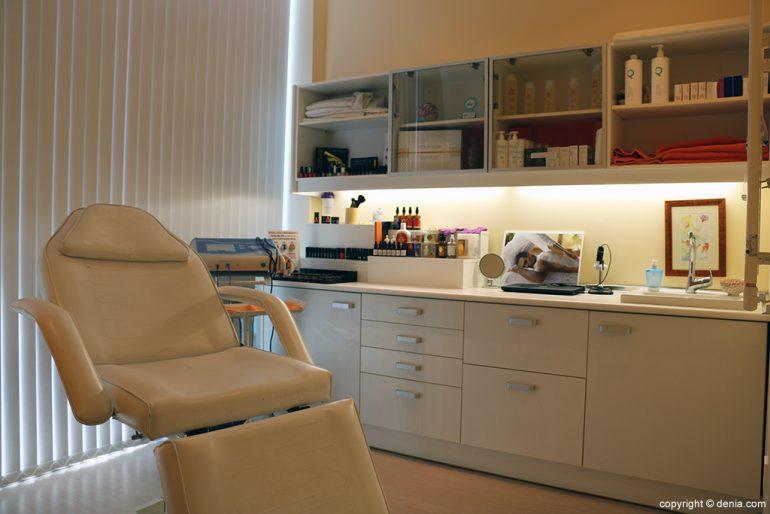 Sala tractaments Yvonne, massatges, estètica & bellesa