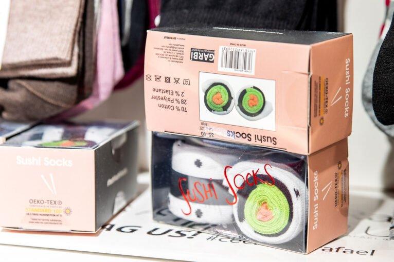 Sushi socks en Dénia - Leveleleven