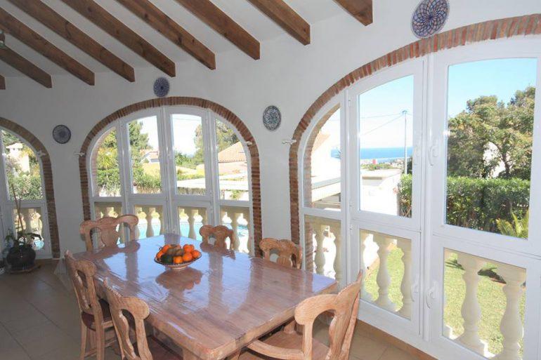 Terraza villa Stella Inmo Consulting