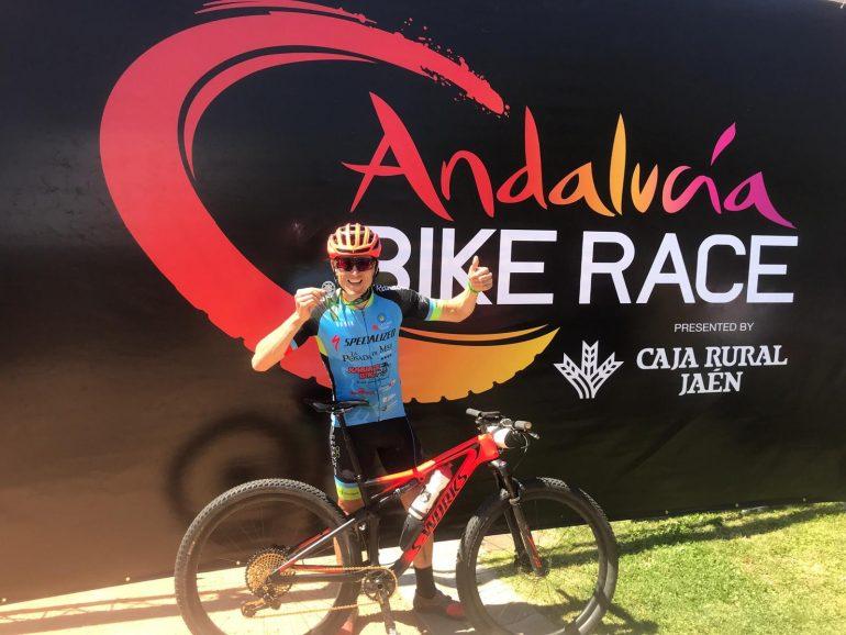 Una delle ciclsitas del Team La Cava
