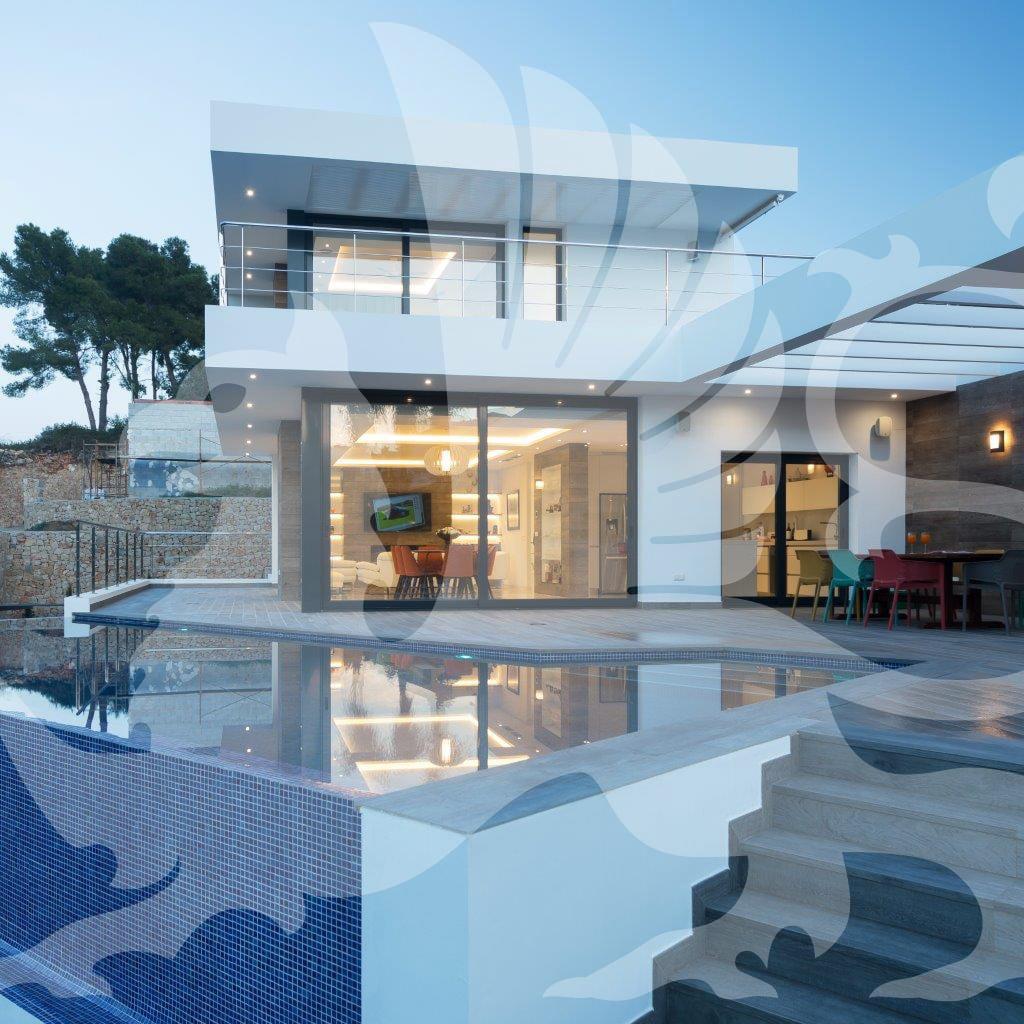 Villa Stirling Ackroyd Spagna