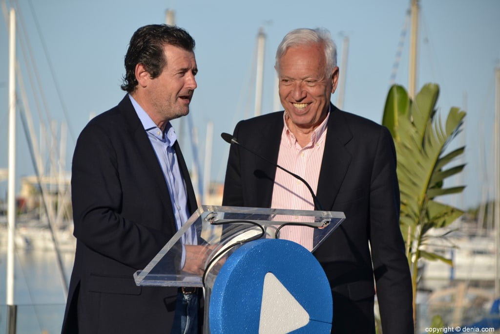 Inici de campanya del PP de Dénia - Císcar i García Margallo