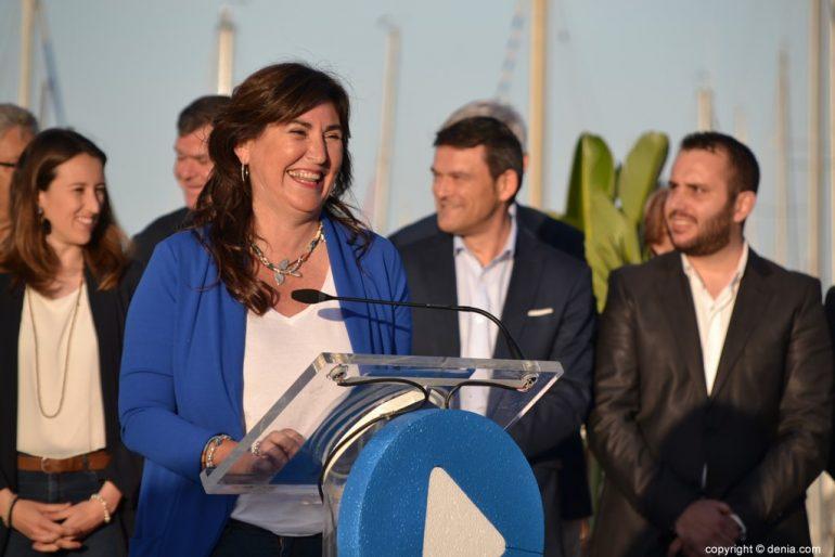 Inici de campanya de PP de Dénia - Maria Mut