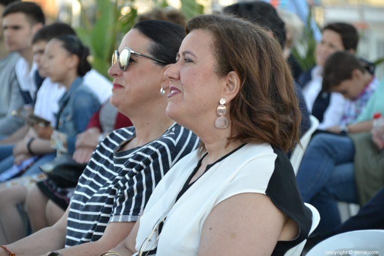 Inici de campanya de PP de Dénia - Ana Kringe i Isabel Gallego