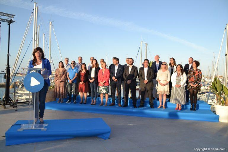 Inici de campanya de PP de Dénia - Discurs de Maria Mut
