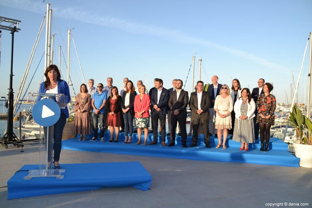 Inici de campanya del PP de Dénia - Discurs de Maria Mut