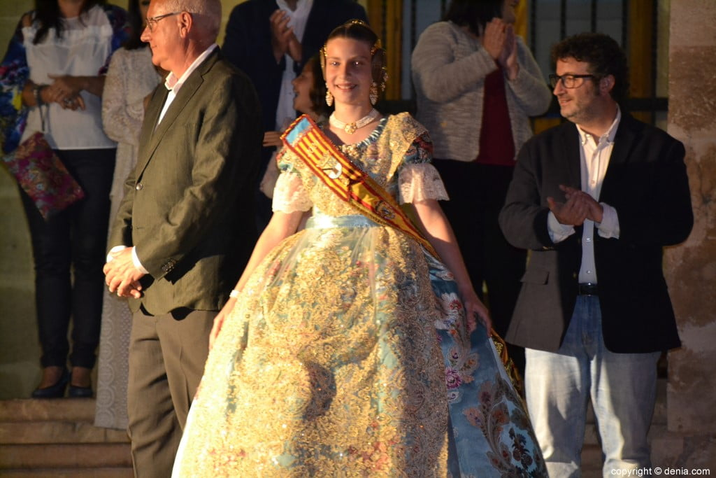 Elección de las falleras mayores de Dénia 2020 – Martina Gimeno