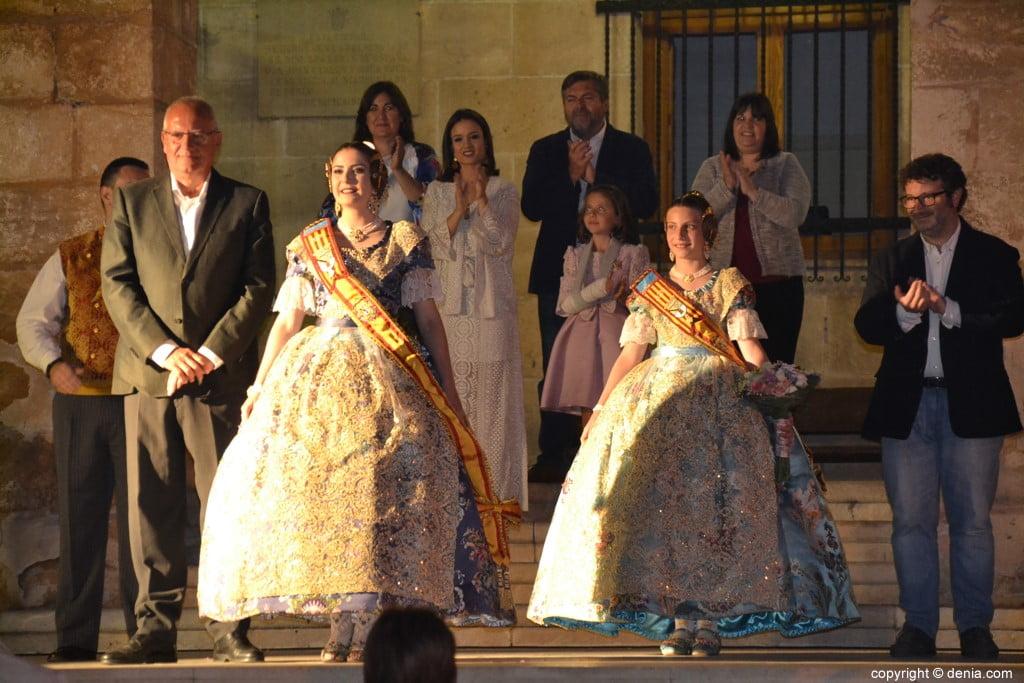 Elección de las falleras mayores de Dénia 2020 – Nomenament de Safir y Martina