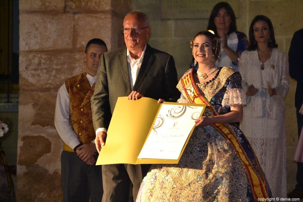 Elección de las falleras mayores de Dénia 2020 – Nomenament de Safir