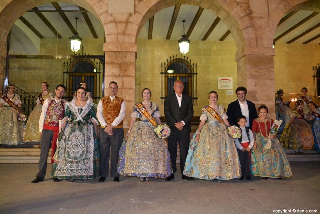 43 Elección de las falleras mayores de Dénia 2020 – Falla Darrere del Castell