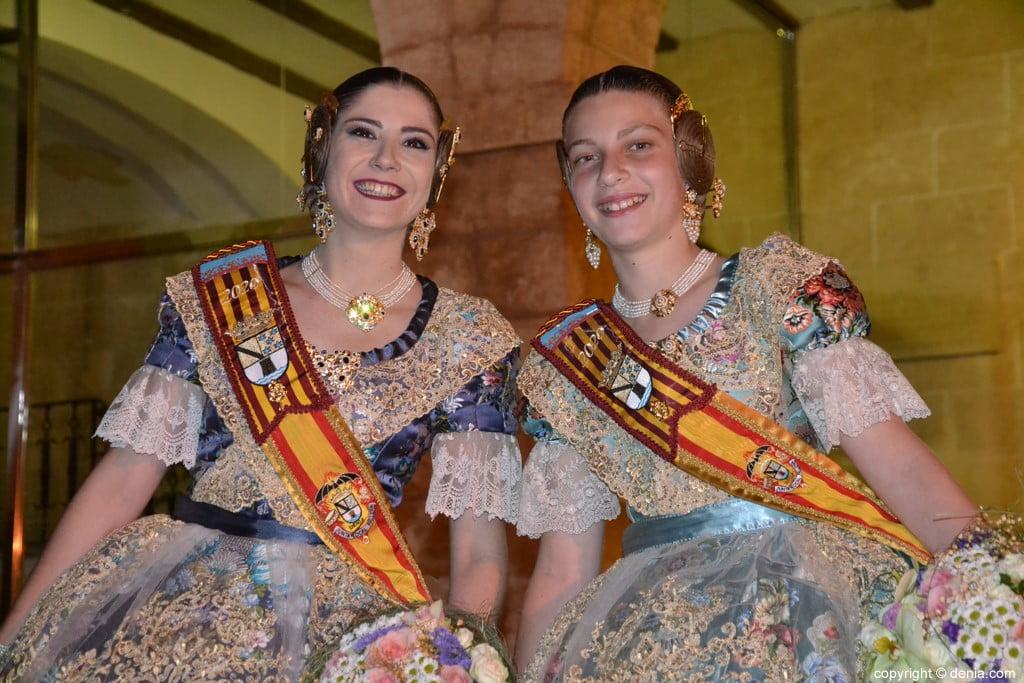 Elección de las falleras mayores de Dénia 2020 – Safir y Martina