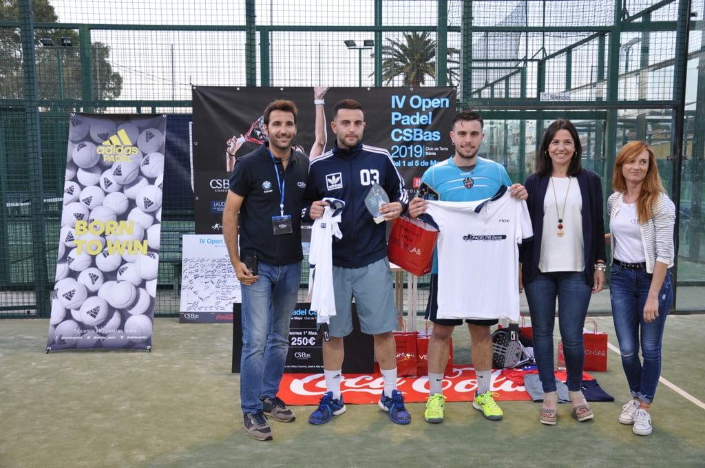 Campeones categoría 3º masculina