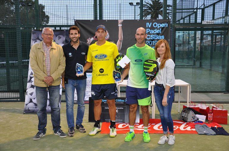 Campeones de la categoría 1º masculina