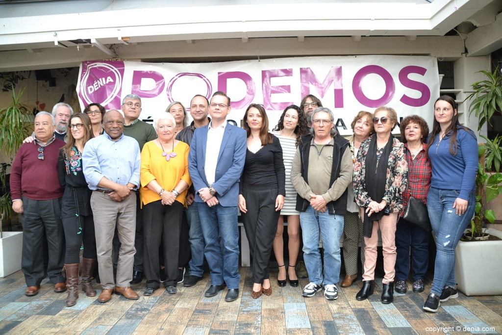 Componentes de Podemos Dénia