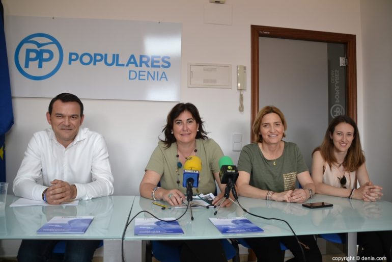 Le Parti populaire de Dénia présente son projet de ville