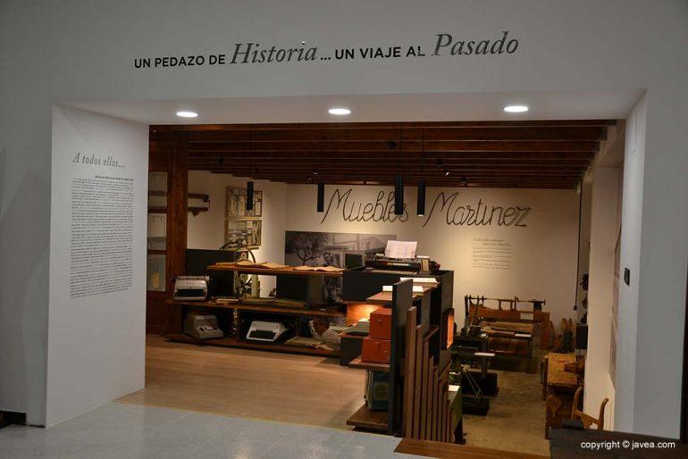 Historia Muebles Martínez