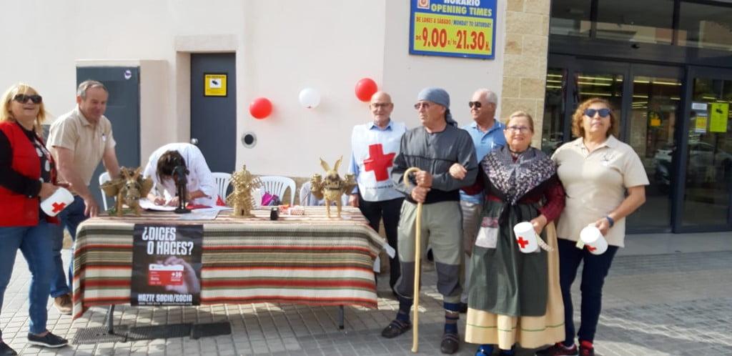 Taula de voluntaris del Dia de la Bandereta