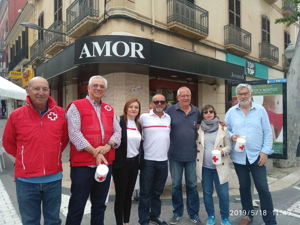 Taula de l'Ajuntament Dia de la Bandereta