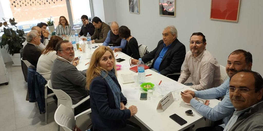 Члены CEDMA на встрече