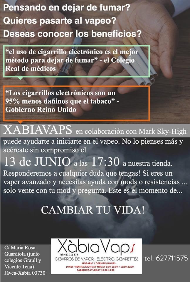 Taller cigarret electrònic a Xàbia - Xàbia vaps