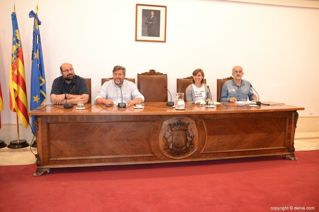 Último pleno de la legislatura en Dénia