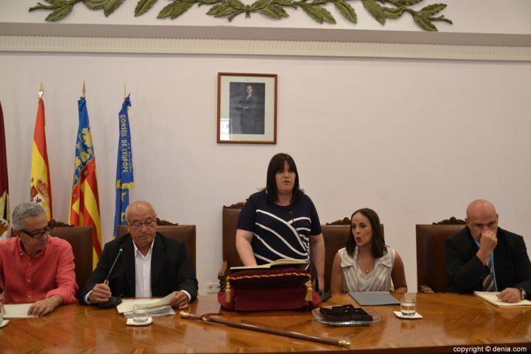 Samenstelling van de gemeenteraad van Dénia - Cristina Morera
