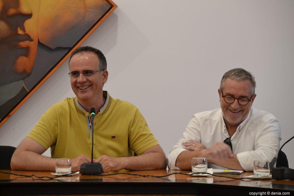 Último pleno de la legislatura en Dénia – Sergio Benito y Esteben Chornet