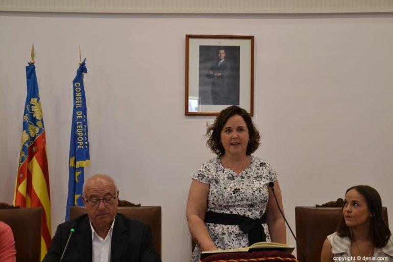 Samenstelling van de gemeenteraad van Dénia - Maite Pérez