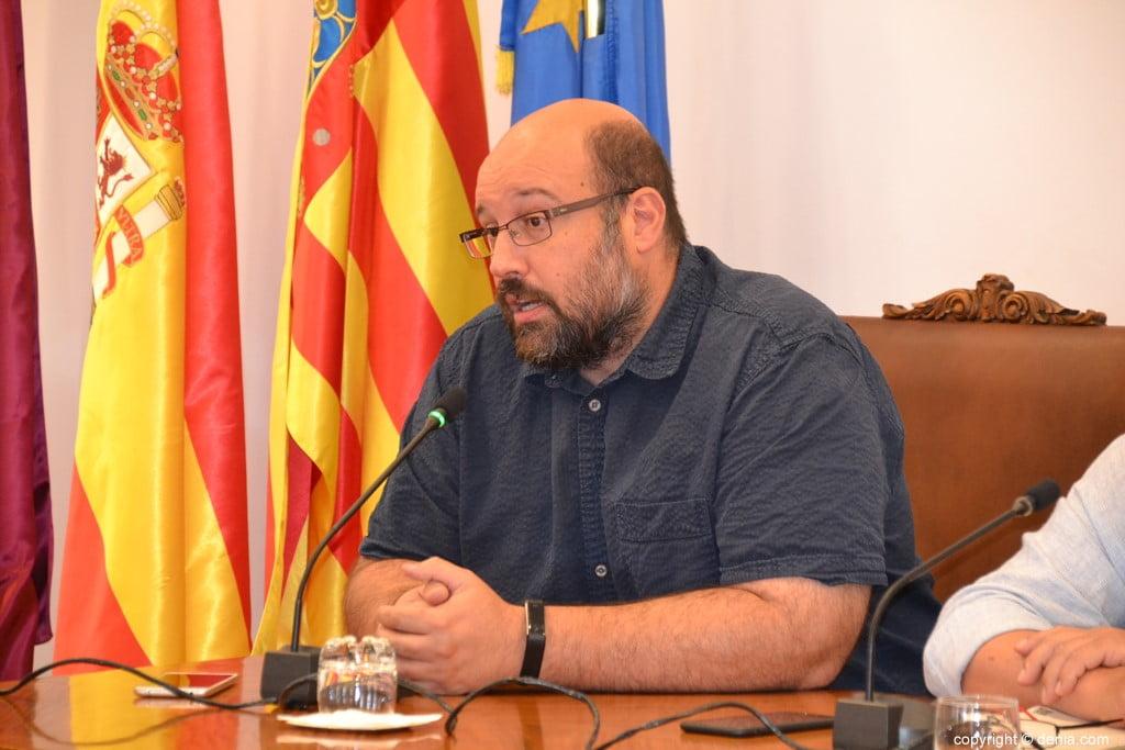 Último pleno de la legislatura en Dénia – Josep Crespo