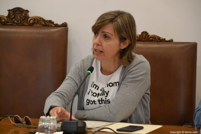 Último pleno de la legislatura en Dénia - Maria Josep Ripoll