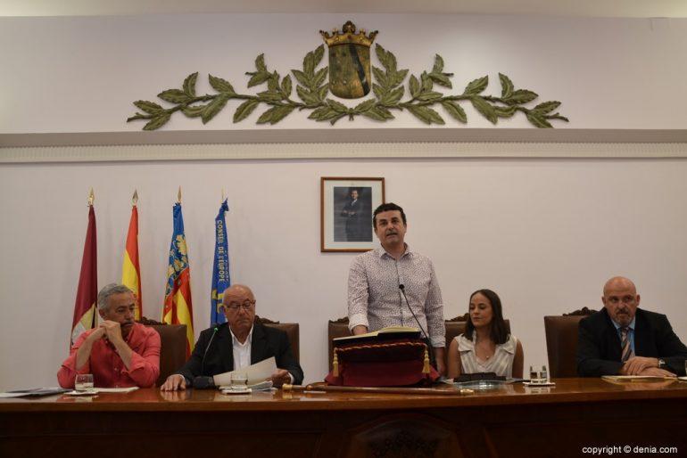 16 Samenstelling van de gemeenteraad van Dénia - Raul David García de la Reina