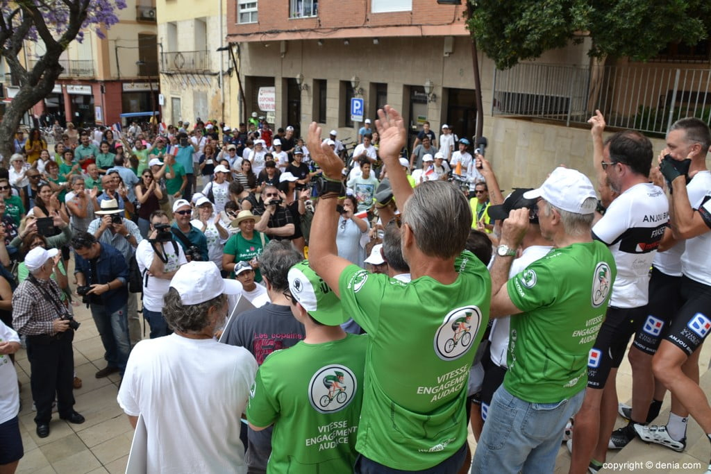 V Cursa Solidària Angers - Dénia - Recepció