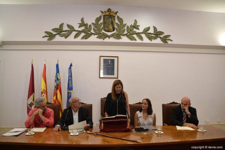Samenstelling van de gemeenteraad van Denia - Eva Ronda
