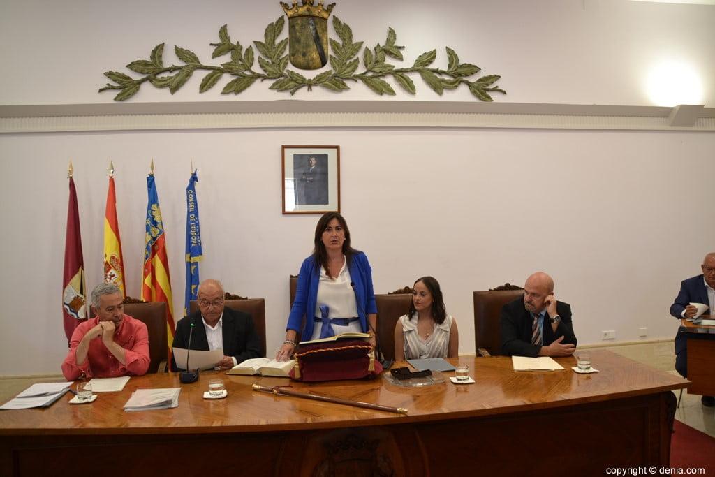 22 Grondwet van de gemeenteraad van Dénia - María Mut