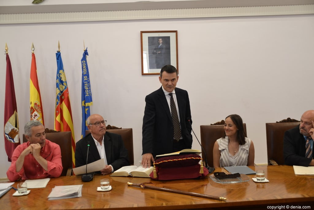 Grondwet van de gemeenteraad van Dénia - José Antonio Cristóbla