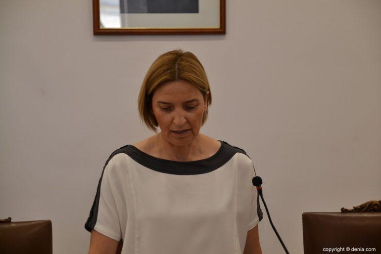Samenstelling van de gemeenteraad van Dénia - Eva Català