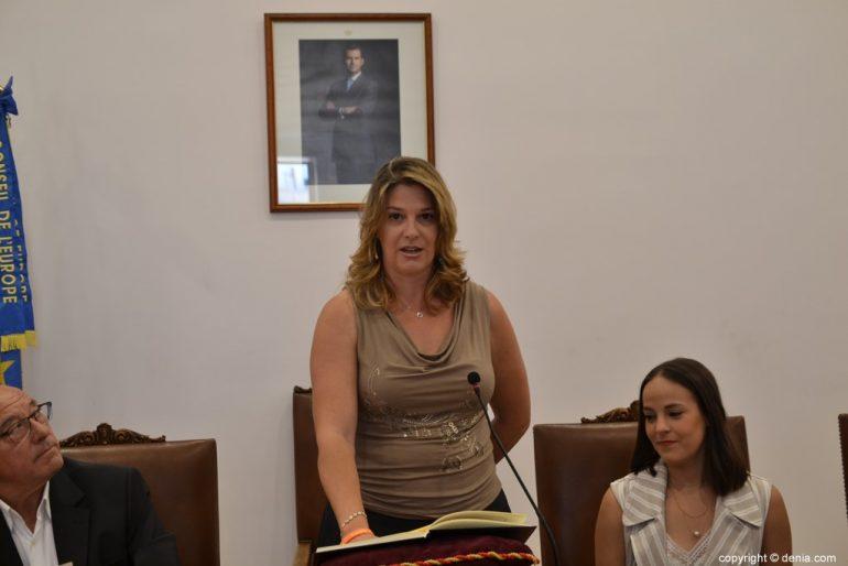 Constitució de l'Ajuntament de Dénia - Susana Mut