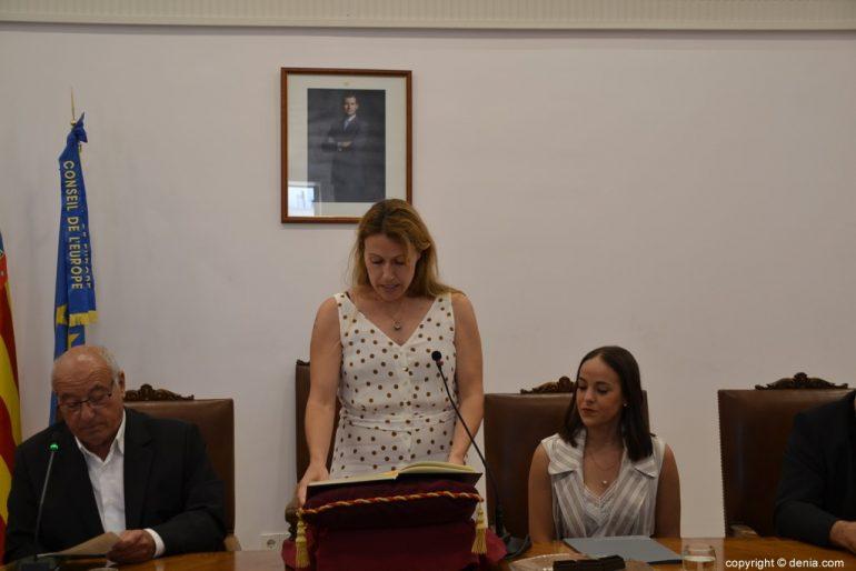 Samenstelling van de gemeenteraad van Dénia - Estefania Schwamb