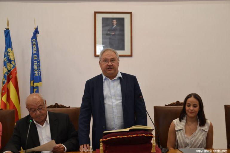 Samenstelling van de gemeenteraad van Denia - Mario Vidal
