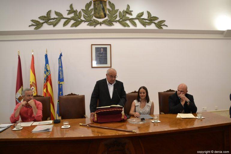 Samenstelling van de gemeenteraad van Dénia - Vicent Crespo