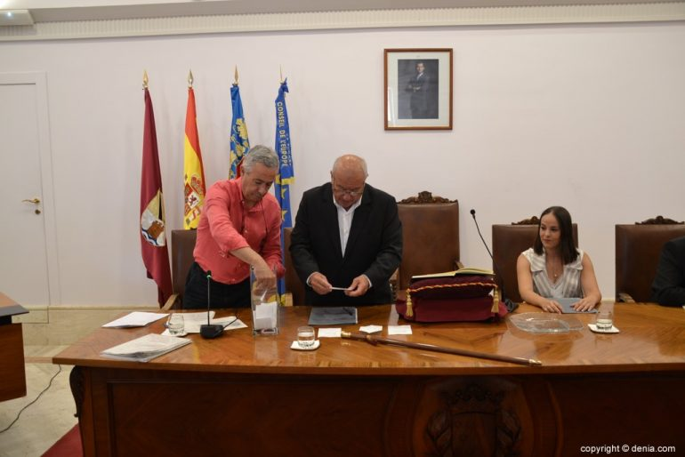 Samenstelling van de gemeenteraad van Denia - Tel stemmen