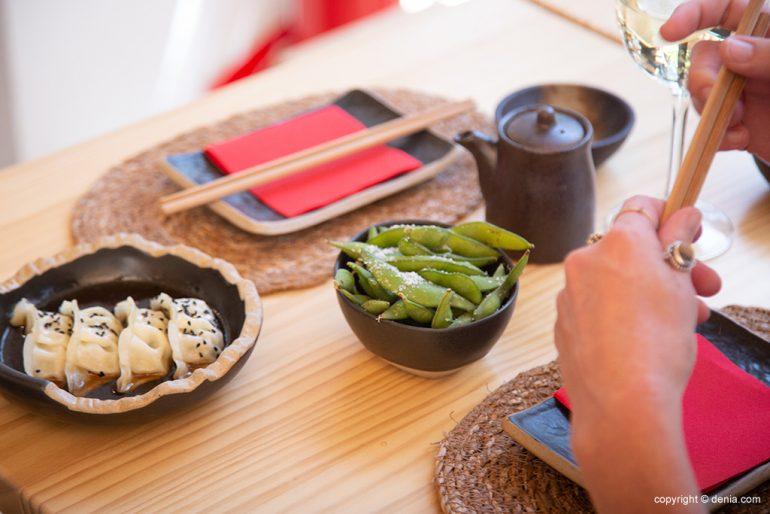 Aperitivos japonenses - Taberna Sushiber