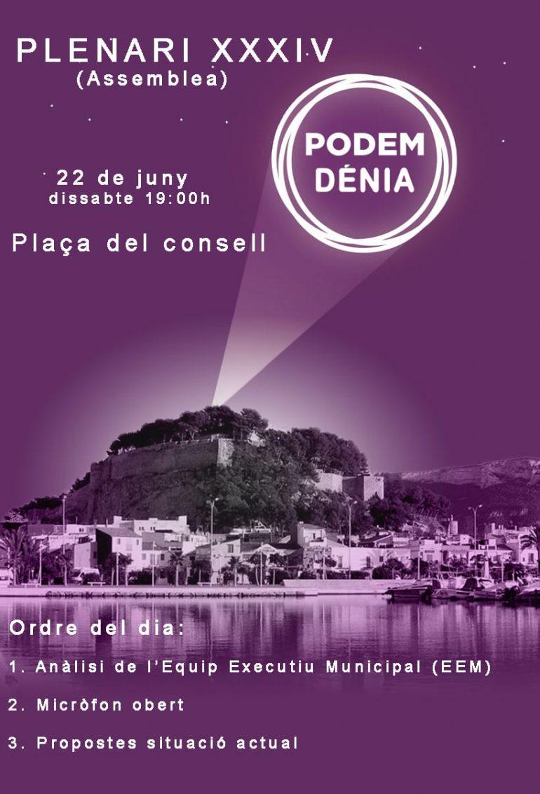 Asamblea Podemos Dénia
