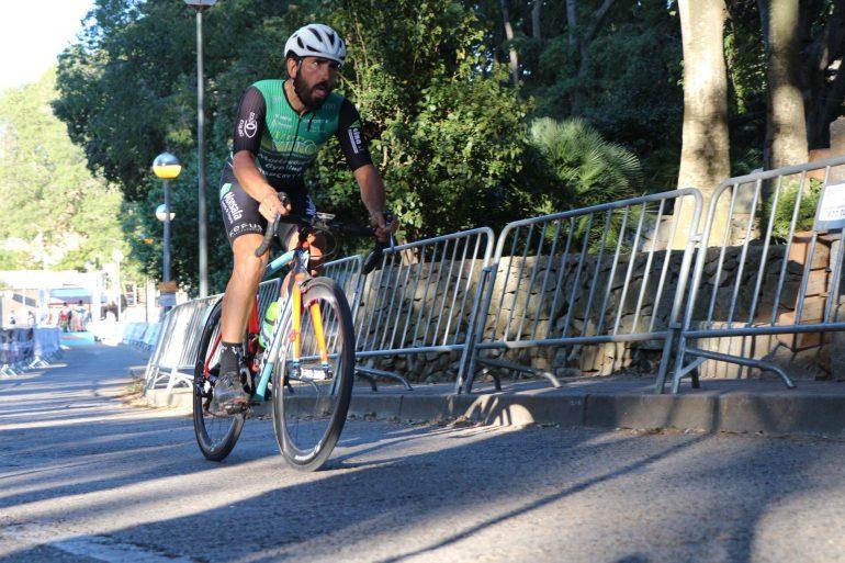 Ascenso en una de las etapas de la Volta a Tarragona