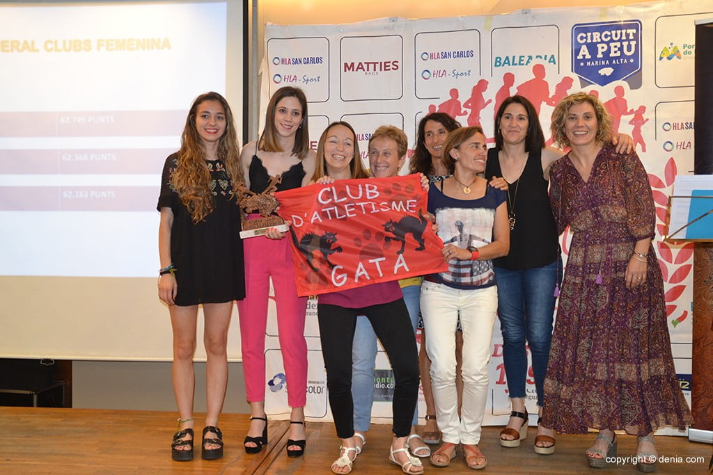 CA Gata tercer per equips femenins