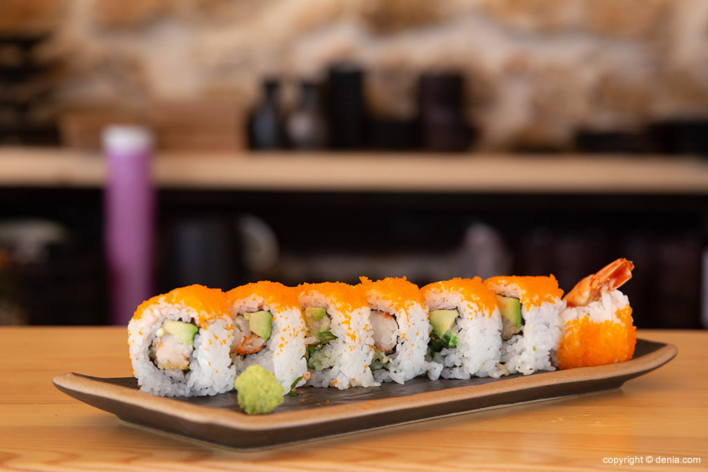 Menjar sushi a Dénia - Taverna Sushiber