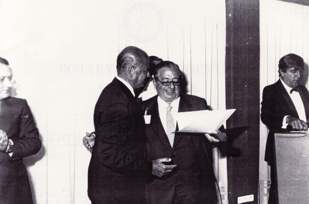 Constitución del Rotary Club Dénia